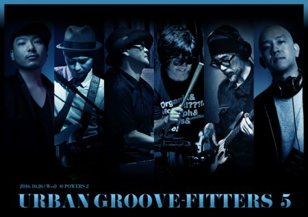 URBAN GROOVE-FITTERS Vol.5〜SWEEP+タケウチカズタケ+森俊之+山本タカシ+中條卓+沼澤尚